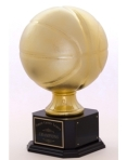 Jumbo-Gold-Tone-Basketball-Award